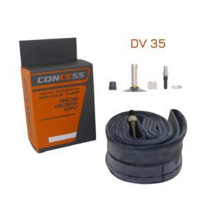 Dętka 14×1,75 CONCESS DV 35mm