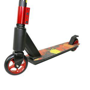 Hulajnoga PROFI 110mm YD-S2006 Alu czarna/czerwona