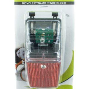 Lampa tył JY-906A na dynamo z podtrzymaniem 1 LED