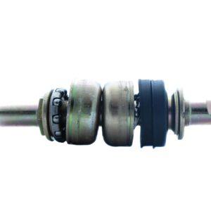 Oś suportu klin 148mm gwint+m/b 40mm+łozys;kp