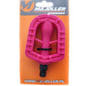 Pedały FP-628 1/2″ PVC dziecięce różowe