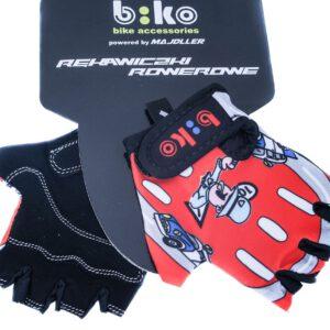 """Rękawiczki BIKO """"6"""" czerwone"""