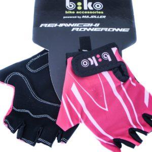 """Rękawiczki BIKO """"4"""" różowe"""