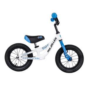Rower Majdller 12″ FIRST BIKE Alu Biały-nieb-czarn