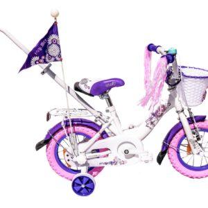 Rower Majdller 12″ STELLA Biały/Fiolet