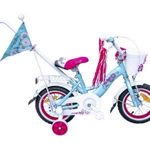 Rower Majdller 12″ STELLA Mięta/Róż