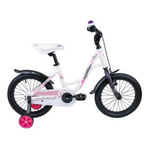 Rower Majdller 16″ BELLA 16 Biały-viola-różowy