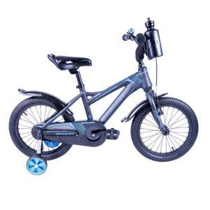 Rower Majdller 16″ DRAKON 16 Grafit-czarny-niebies