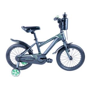 Rower Majdller 16″ DRAKON 16 Grafit-czarny-zielony