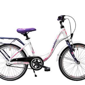 Rower Majdller 20″ BELLA 2.3 Biały-fiolet-różowy