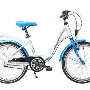 Rower Majdller 20″ BELLA 2.3 Biały-niebieski-graf