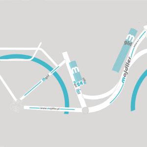 Rower Majdller 24″ BELLA 4.3 Biały-mięta