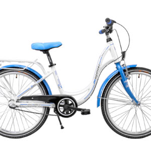 Rower Majdller 24″ BELLA 4.3 Biały-niebieski