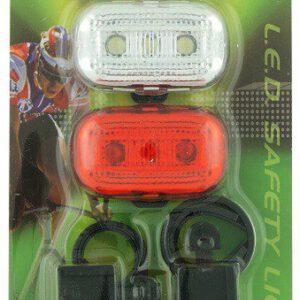 Zestaw lamp JY-289F+289T bateryjne  3 LED 3 funkc.