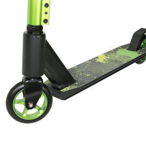 Hulajnoga PROFI 110mm YD-S2006 Alu czarna/zielona