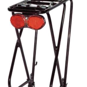 Bagażnik 26″-28″ aluminiowy regulowany czarny