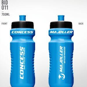Bidon 0,7L Majdller blue metalic bid-011