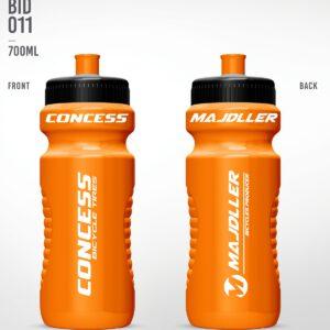 Bidon 0,7L Majdller orange bid-011