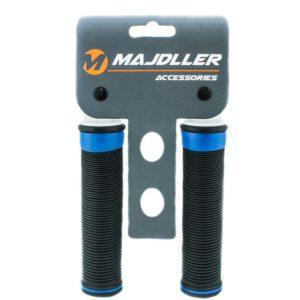 Chwyt HL-G125 guma 128mm czarno/niebieski