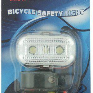 Lampa przód JY-289F bateryjna 3 LED 3 funkcyjna