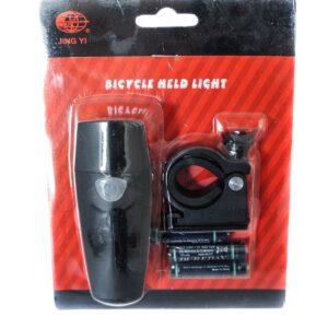 Lampa przód JY-7001/576 bateryjna 1 LED 3 funkc.