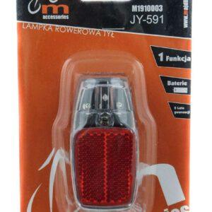 Lampa tył JY-591 bateryjna na błotnik 1 LED 1fun