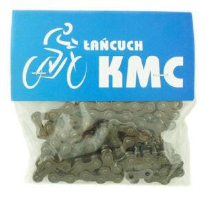 Łańcuch 24″ KMC Z410 104 ogn. 1/2″ x 1/8″ brązowy