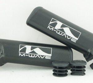 Rogi alum czarne M-Wave krótkie