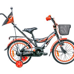 Rower Majdller 16″ COMBO Grafit/Orange