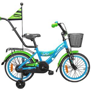 Rower Majdller 16″ COMBO Niebieski/Zielony