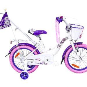 Rower Majdller 16″ STELLA Biały/Fiolet