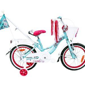 Rower Majdller 16″ STELLA Mięta/Róż