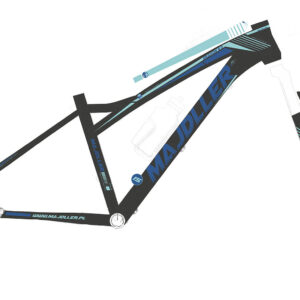 Rower Majdller 26″ DRAKON 6.0 2HT15″ Czar matt/fio