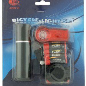 Zestaw lamp JY-246-3W+173A bateryjne 1 LED 2 funkc