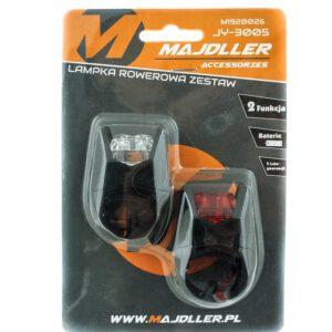 Zestaw lamp JY-3005D bateryjne 2 LED 2 funkcyjne