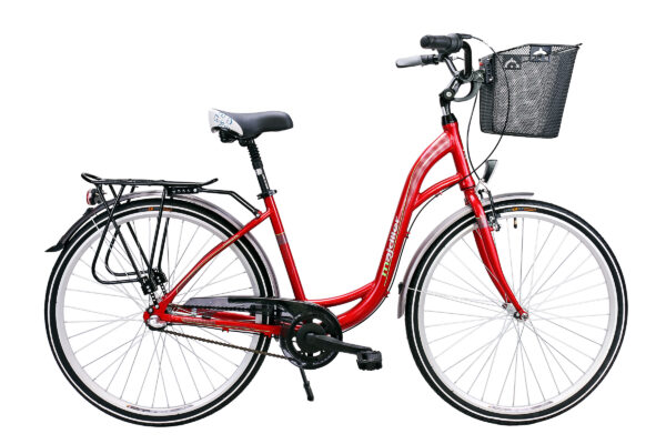 Rower Majdller 28″ MOTTA 8.3 ECO Czerwony perła