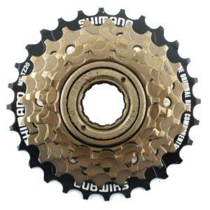 Wolnobieg 6-rzed.SH MF-TZ50 14-28T brązowy