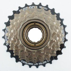 Wolnobieg 7-rzed.SH MF-TZ50 14-28T brązowy